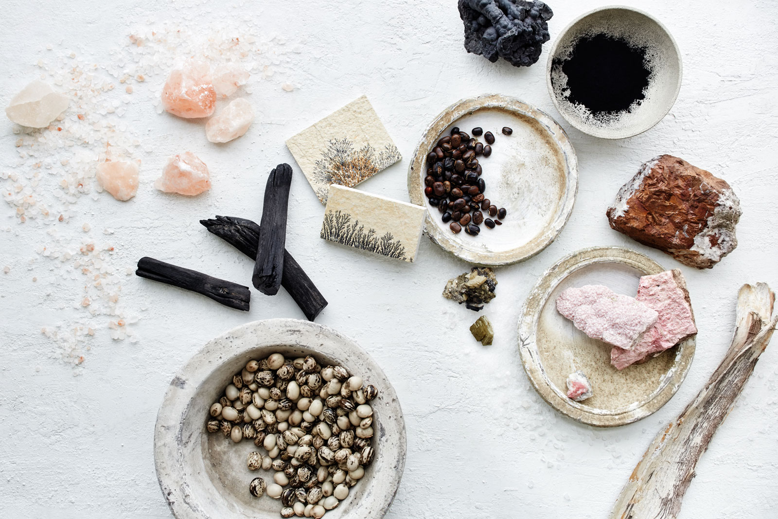Ingredients for Hairprint Product  | Trinette+Chris Photographers