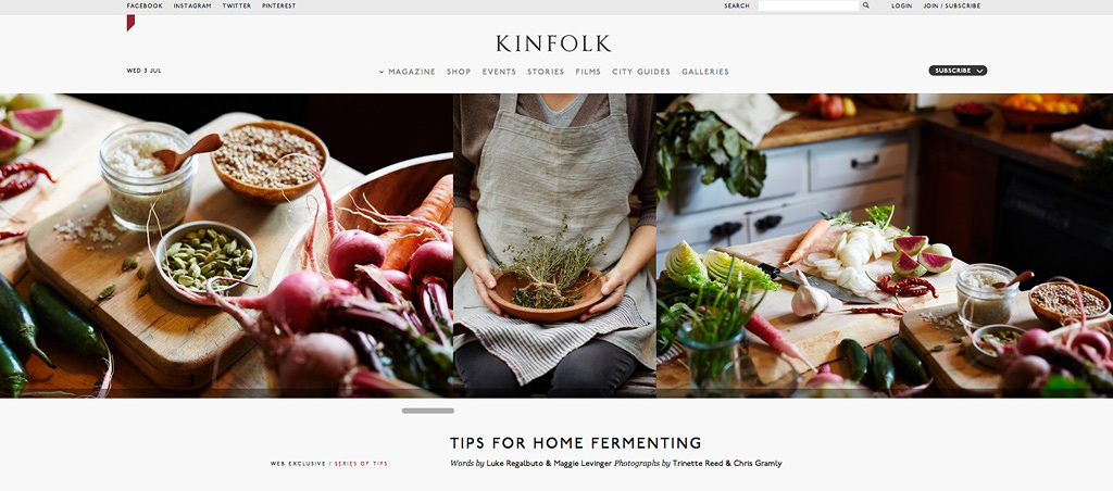 Kinfolk Magazine Fermentation  | Trinette+Chris Photographers