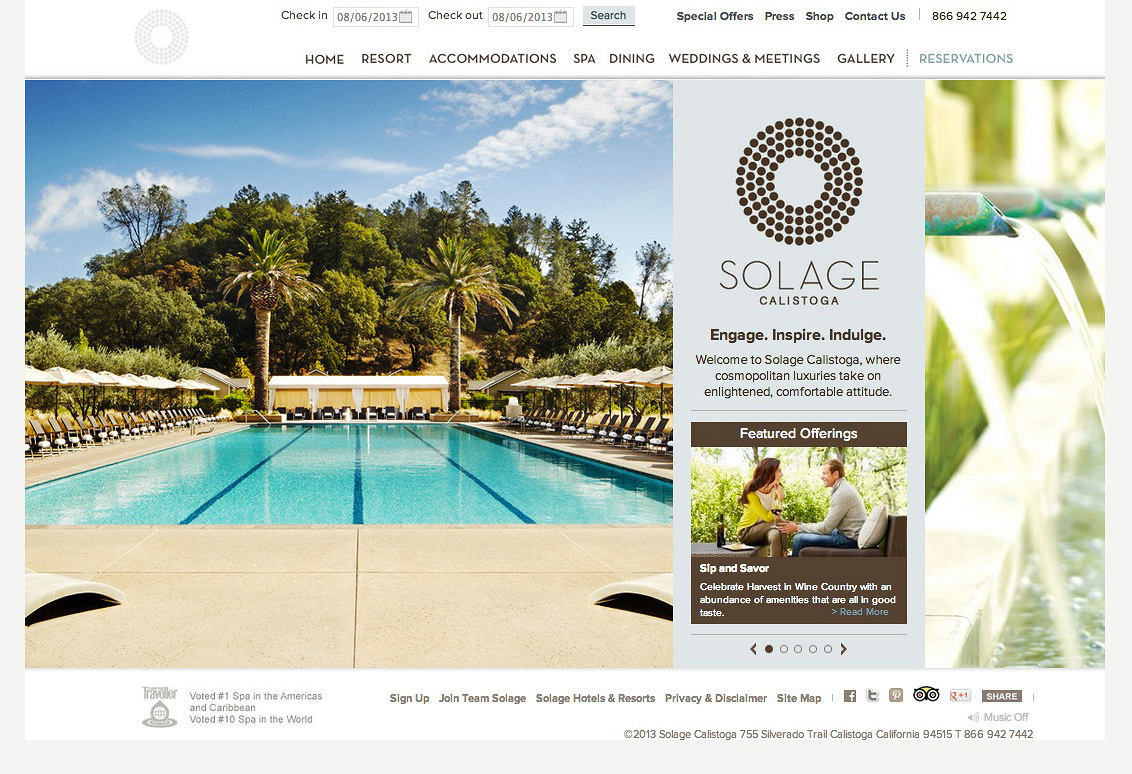 Solage Website  | Trinette+Chris Photographers
