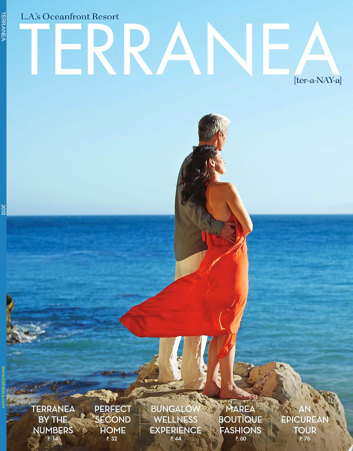 Terranea Resort Cover AD  | Trinette+Chris Photographers