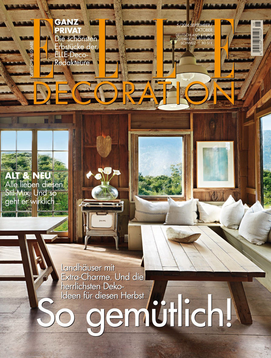 Elle Decor Magazine Cover  | Trinette+Chris Photographers
