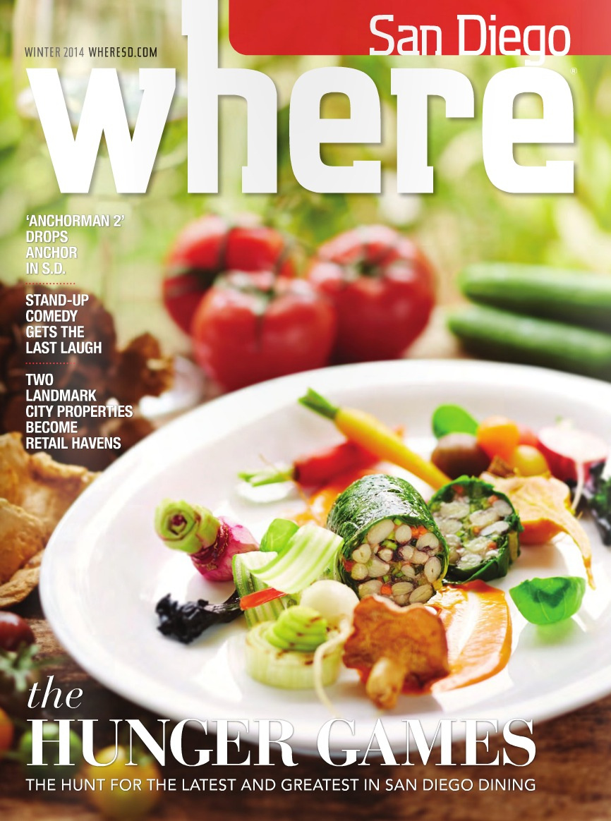 Where Magazine Cover  | Trinette+Chris Photographers