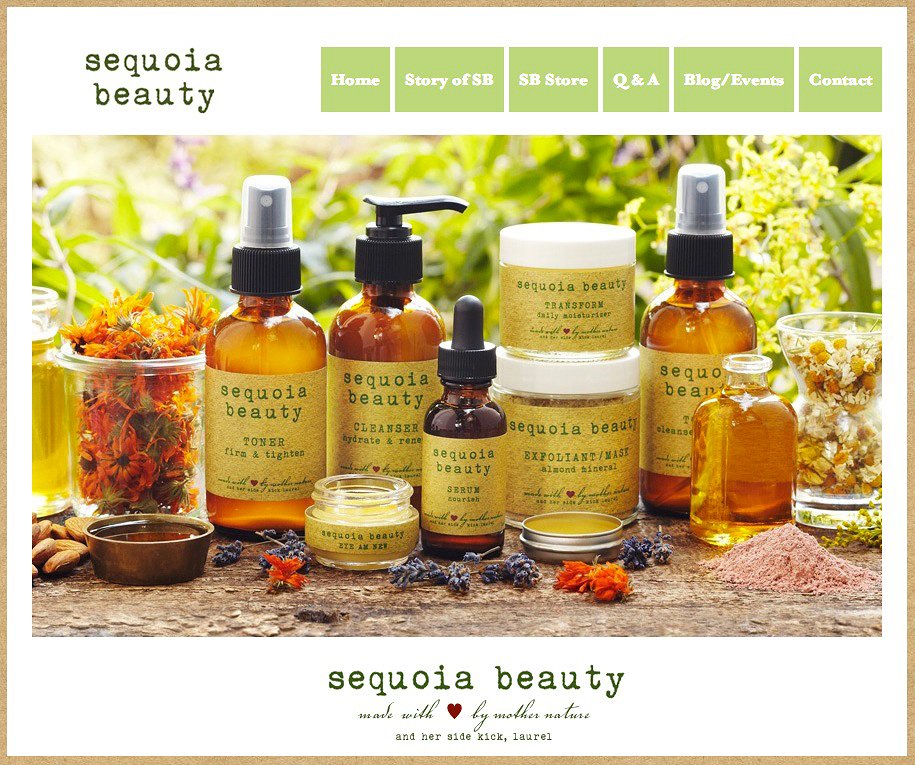 Sequoia Beauty Products Ad  | Trinette+Chris Photographers