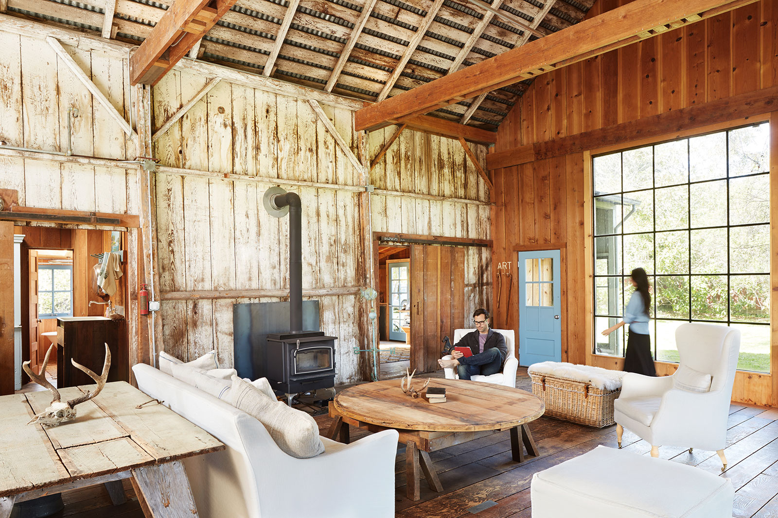 Barn home in West Marin, CA  | Trinette+Chris Photographers