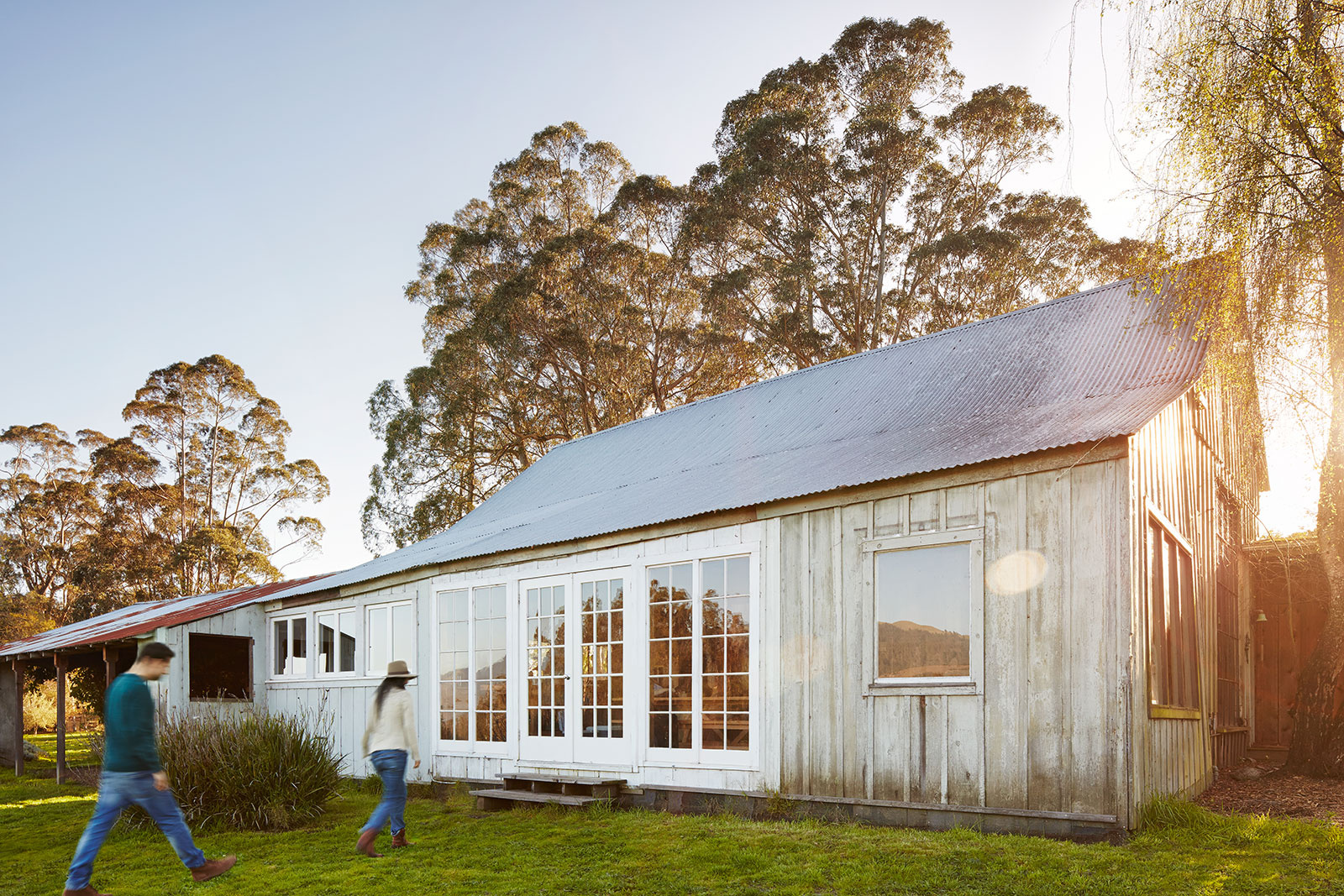 Barn home in Marin, CA  | Trinette+Chris Photographers