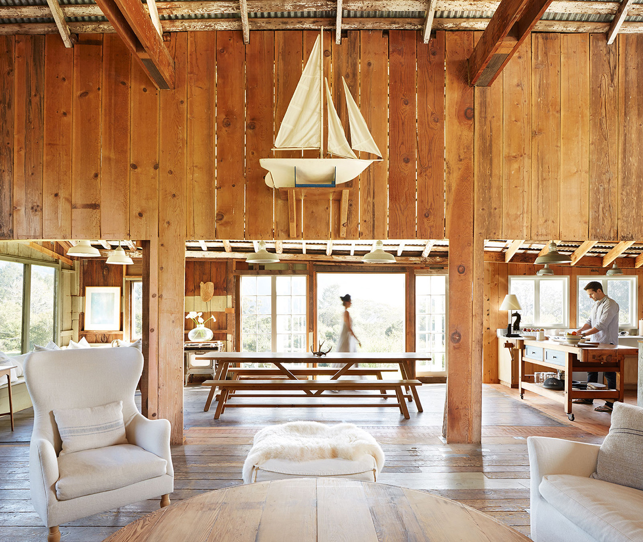 Renovated barn home in California  | Trinette+Chris Photographers