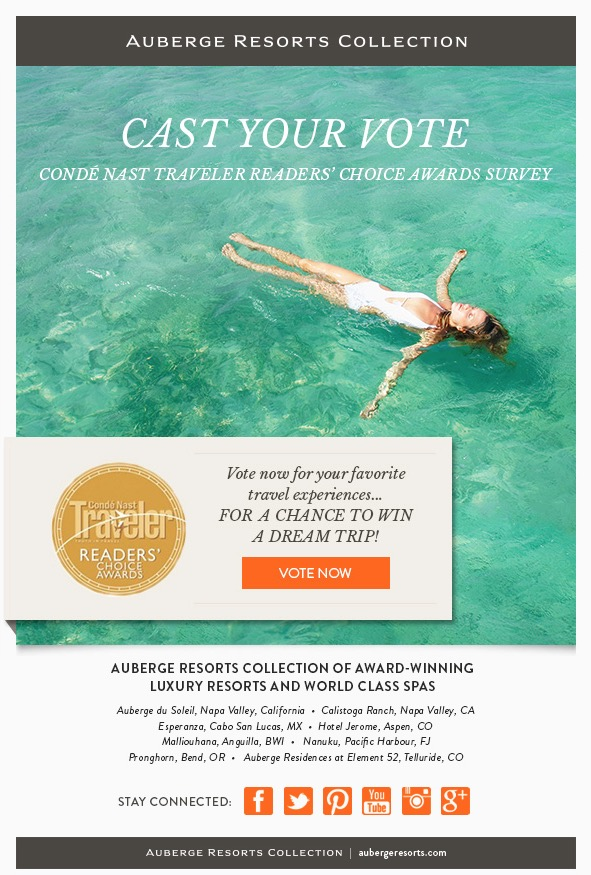 Auberge Resorts Ad  | Trinette+Chris Photographers
