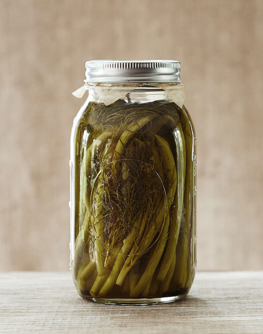 Preserved green beans  | Trinette+Chris Photographers