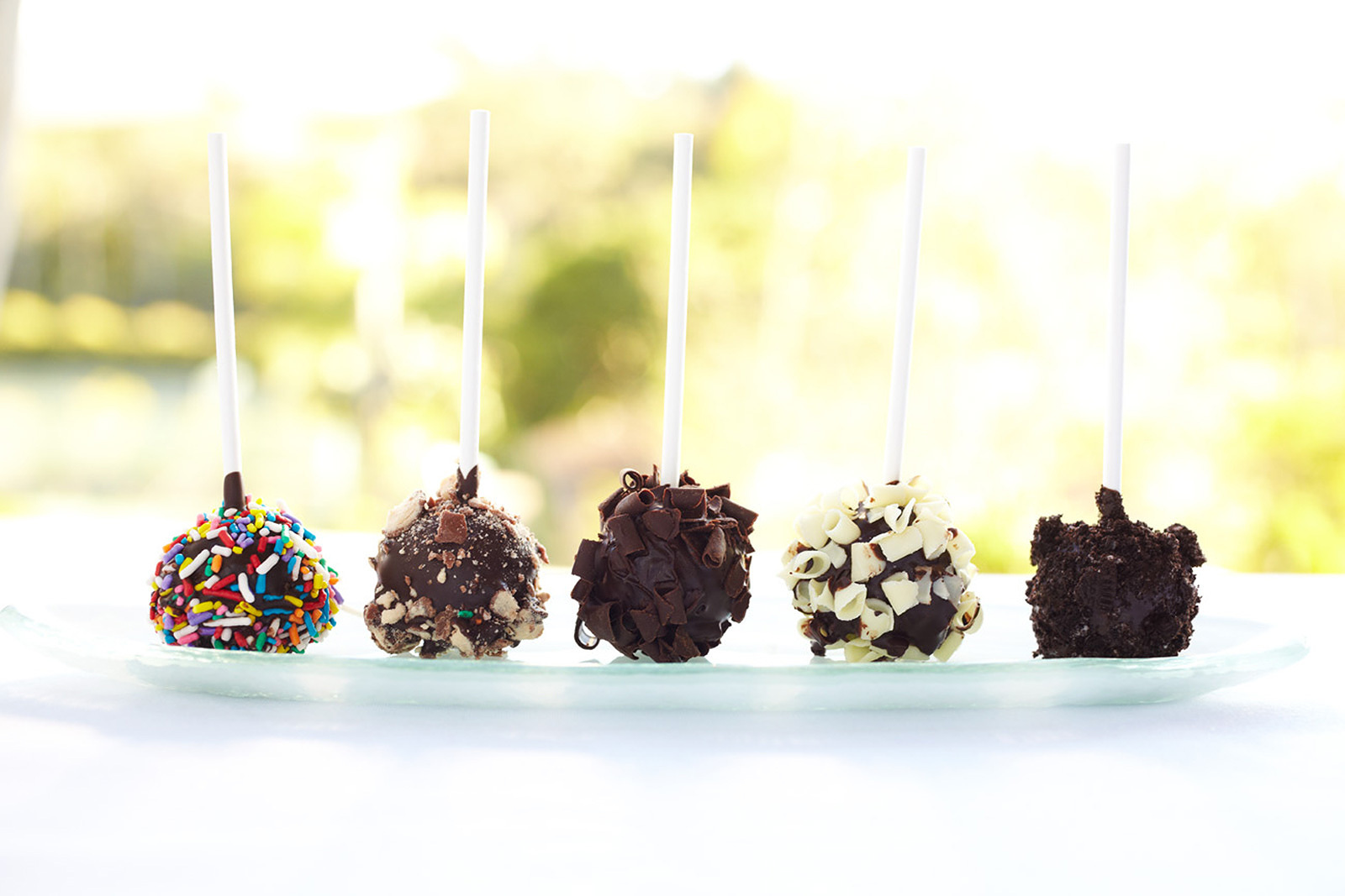 Lollipops at Rancho Valencia restaurant  | Trinette+Chris Photographers