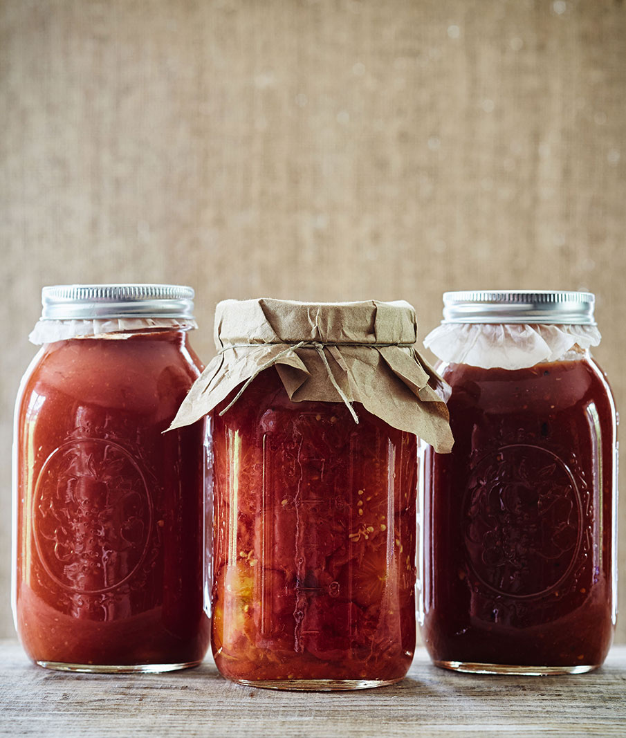 Canned tomatoes  | Trinette+Chris Photographers