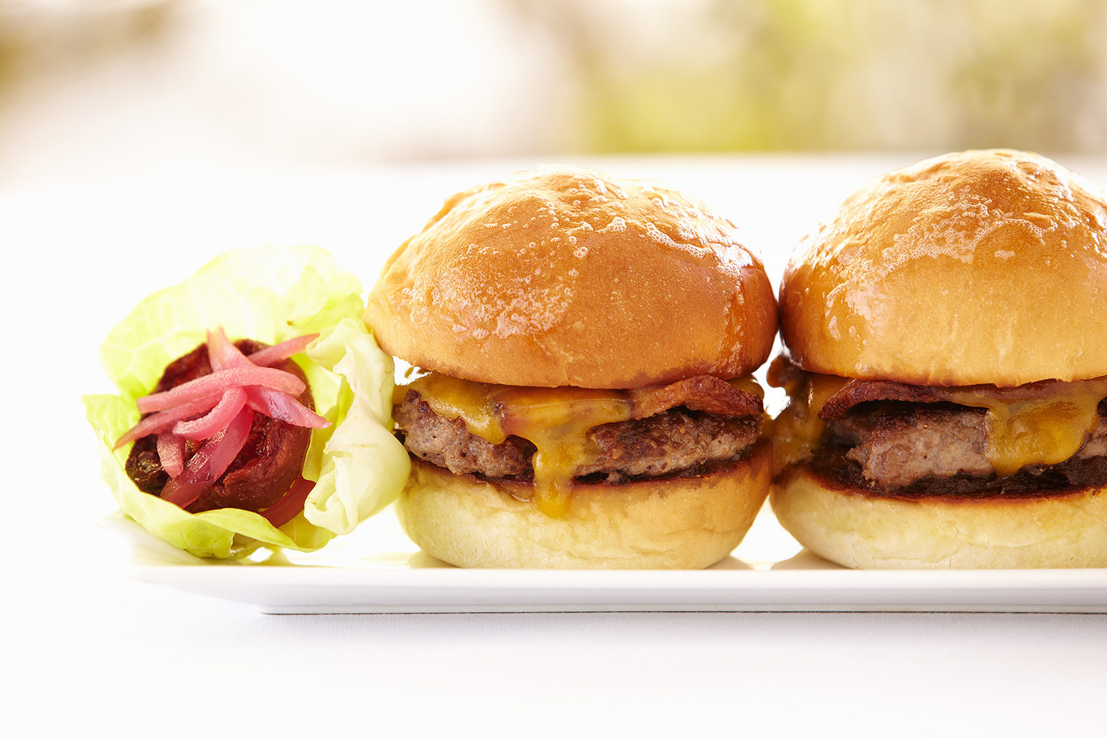 Sliders at Solbar restaurant, Napa, CA  | Trinette+Chris Photographers