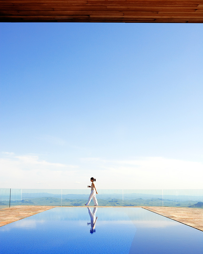 Pool at Napa Valley luxury home  | Trinette+Chris Photographers