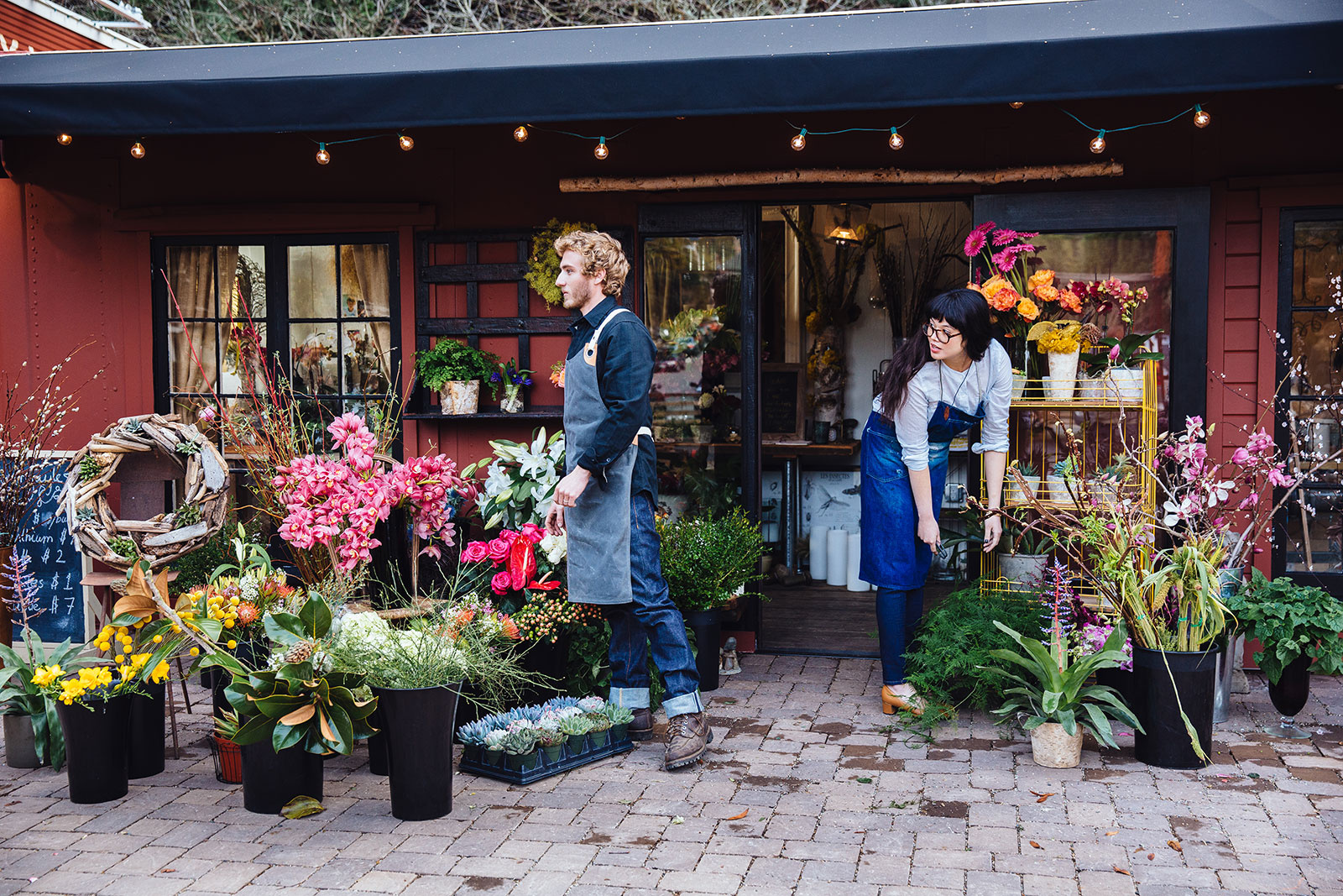 Small business owners in Mill Valley  | Trinette+Chris Photographers