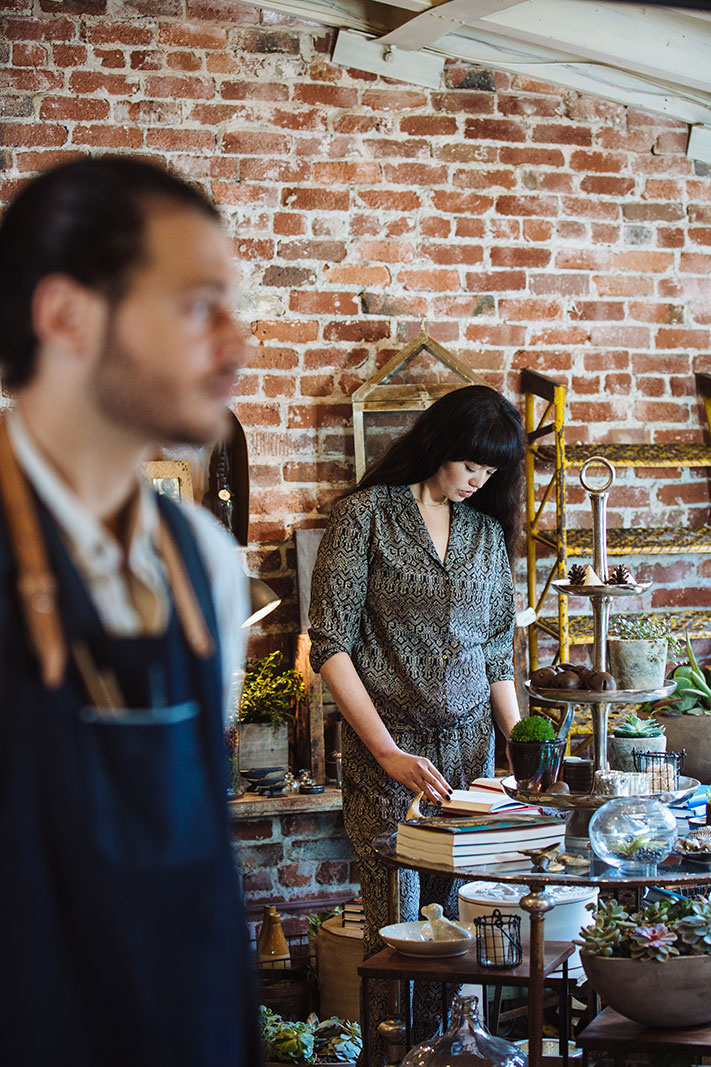 Mercantile shop in Mill Valley, CA  | Trinette+Chris Photographers