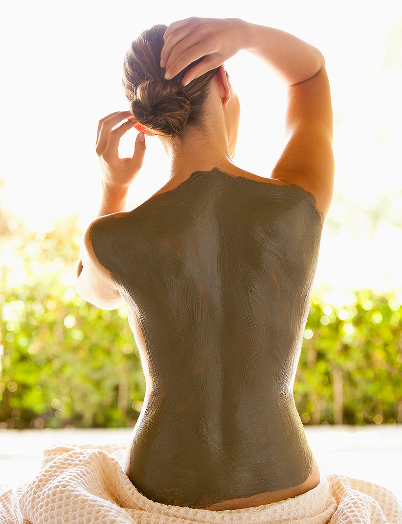 Mud Treatment  Auberge Du Soleil  | Trinette+Chris Photographers