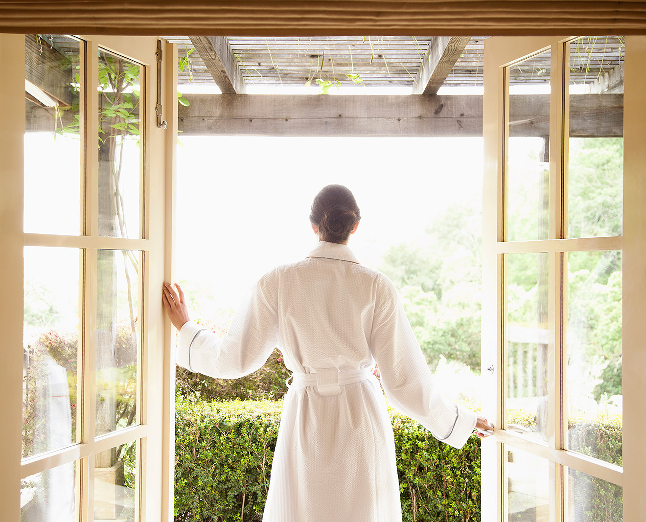 Spa at Auberge Du Soleil, Napa, CA  | Trinette+Chris Photographers