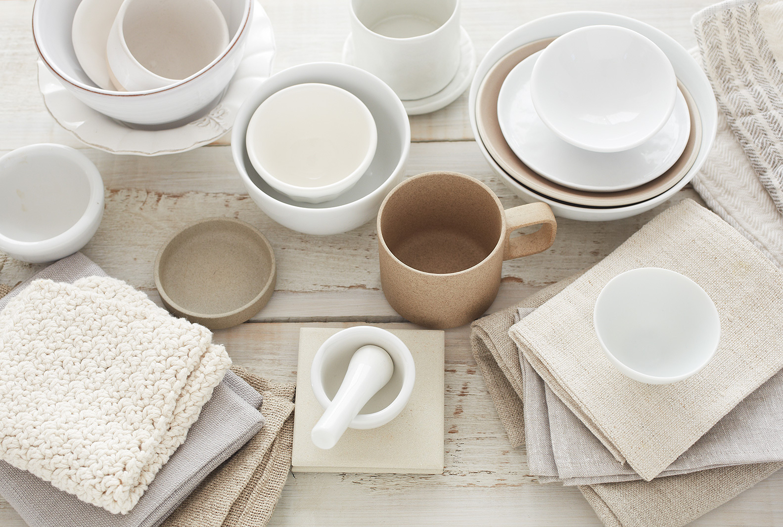White Dinnerware Still Life  | Trinette+Chris Photographers