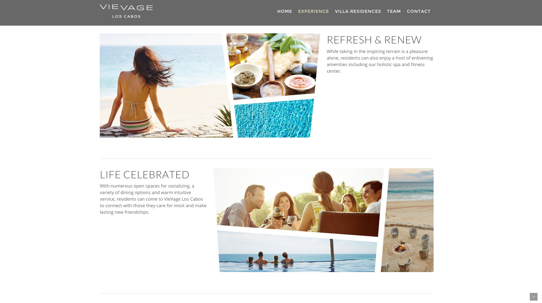VieVage Los Cabos Ad  | Trinette+Chris Photographers